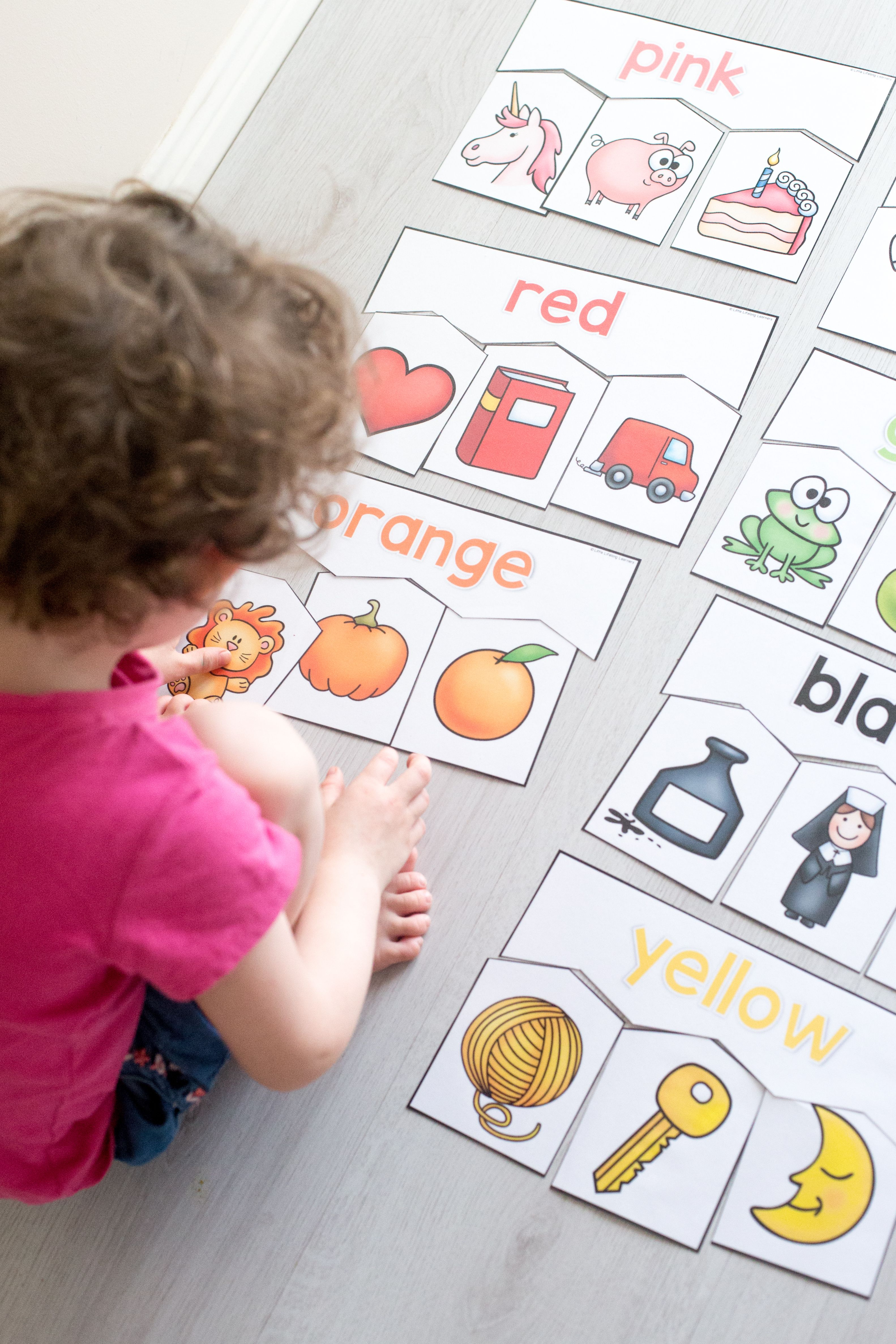 Colour Puzzles For Toddlers And Preschoolers