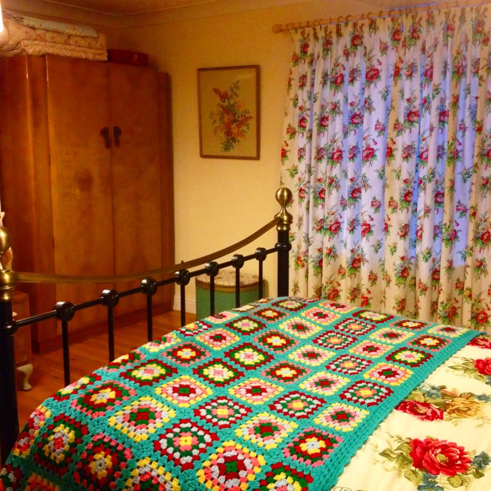 My vintage bedroom. #sarahmaguire_myvintagehome
