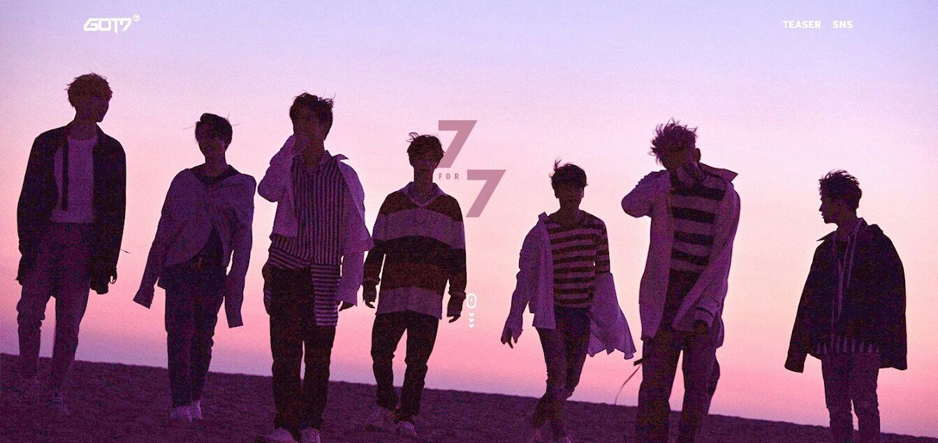 Got7 7 For 7 Their New Album Iv Heard A Few Of The Song Amazing You Guys First And Fave Kpop Group Still Poping 잭슨 뱀