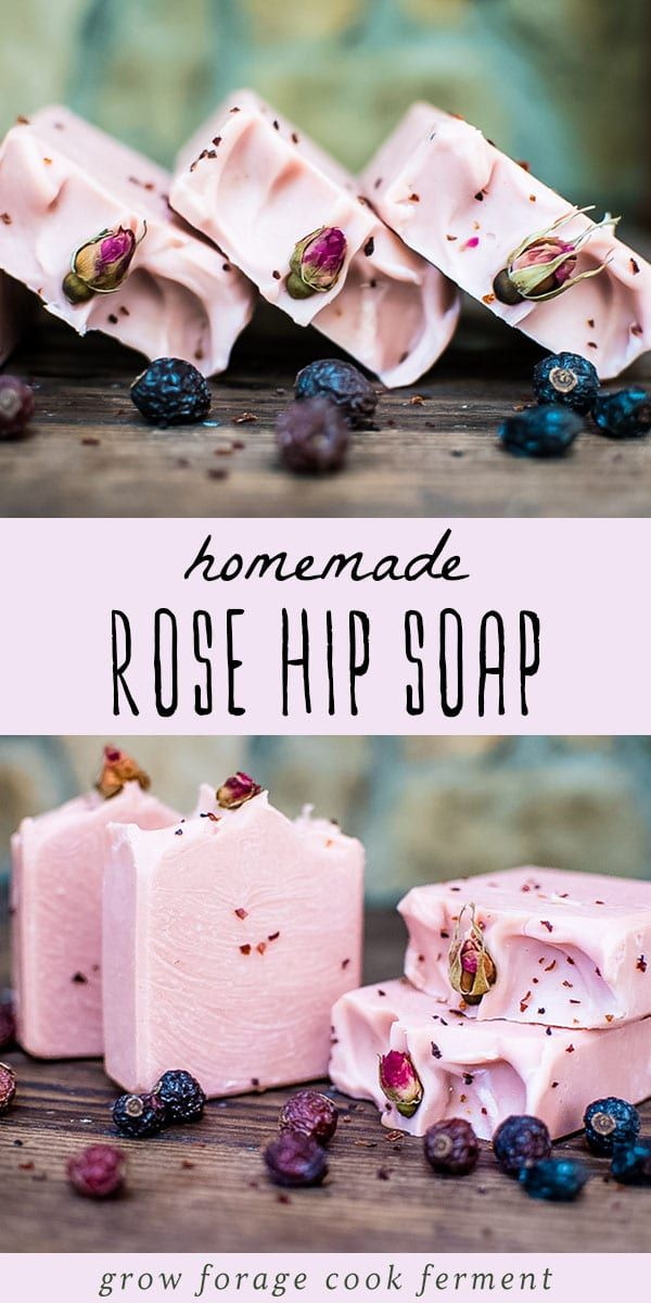 Homemade Rose Hip Soap Recipe