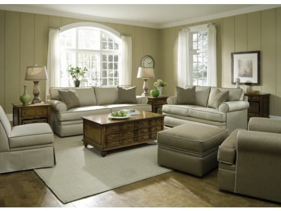 Kendall Stripe 2 PC Sofa U0026 Loveseat Package   Value City Furniture