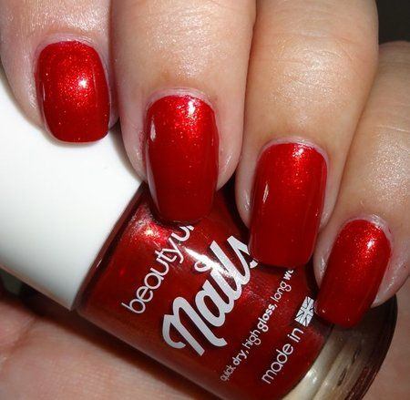 Beauty UK - Red Royale #wendysdelights #maroon #polish #mani #nails - bellashoot.com
