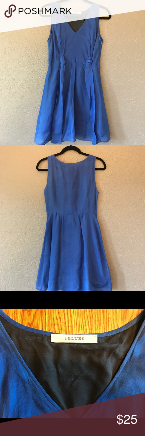 Sleeveless i Blues dress  Blue dresses Royal blue and Layering