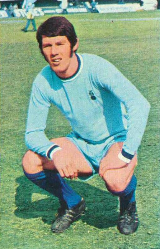 Bill Rafferty of Coventry City in 1971.