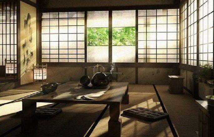 Japanese Sitting Room