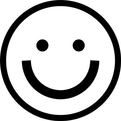 Black And White Smiley Tattoo Character Smiley Inspirational Tattoos