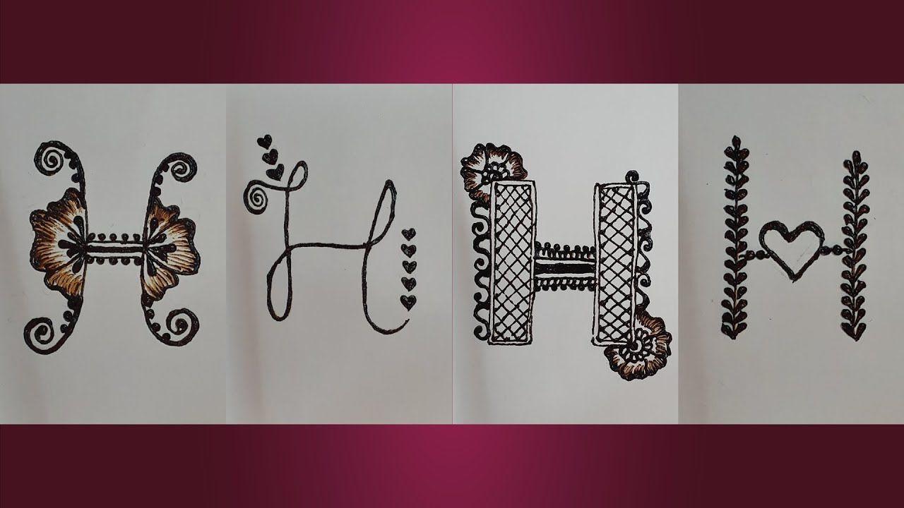 h name mehndi design