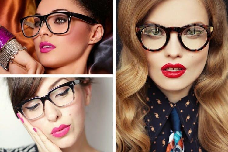 comment se maquiller avec des lunettes news beaut pinterest. Black Bedroom Furniture Sets. Home Design Ideas