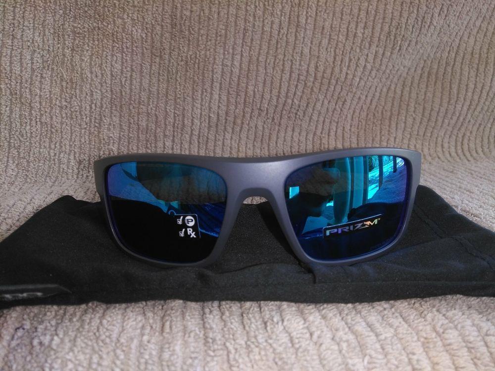 c22e4ee47cd Oakley Drop Point Sunglasses OO9367-0660 Dark Grey