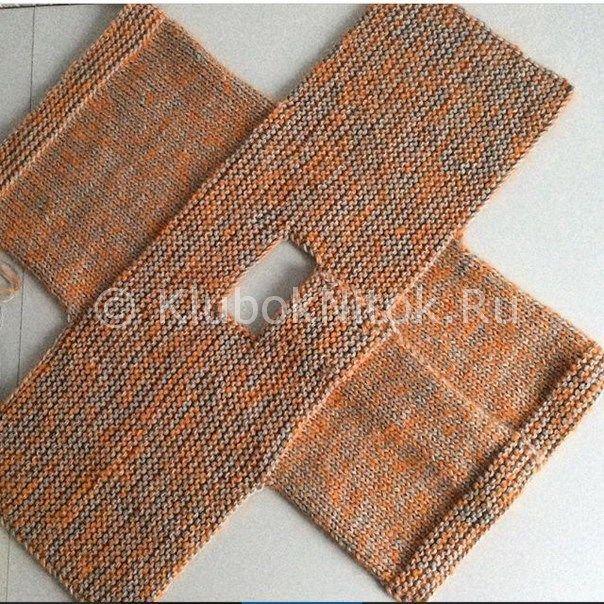 Кофта для малыша | Вязание для детей | Вязание спицами и ...