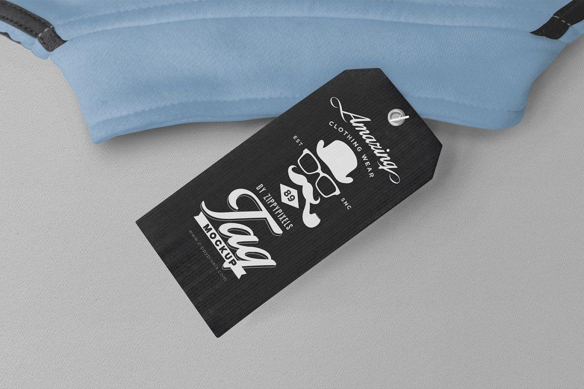 Download Customizable Price Tag Mockups Label Design Price Tag Branding Mockups
