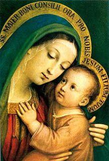 Madonna Del Buon Consiglio Di Pasquale Sarullo Sec Xix Jesus Und