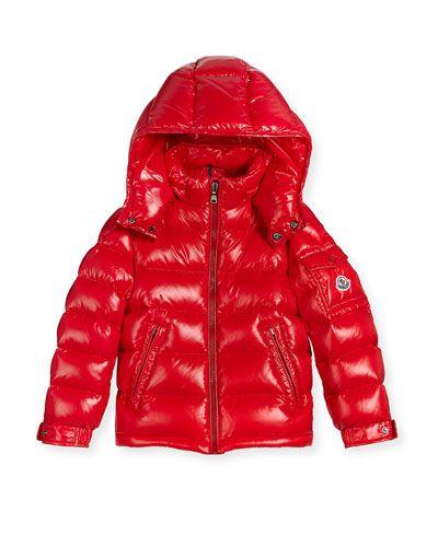 92dbc4c14eb K0PBU Moncler New Maya Puffer Coat, Size 4-6 | JCP KIDS - GIRLS ...