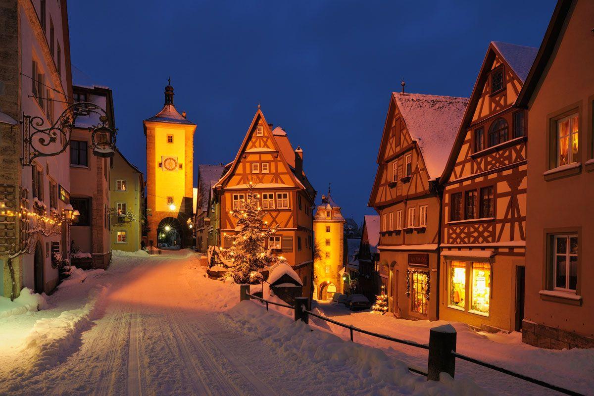 Destinos de navidad infalibles destino alemania y - Rothenburg ob der tauber alemania ...