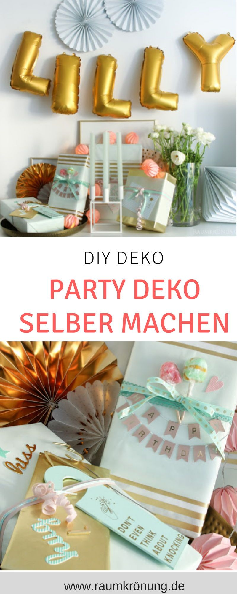 Party Deko Ideen Geburtstag Party Diy Hangende Papierschlangen