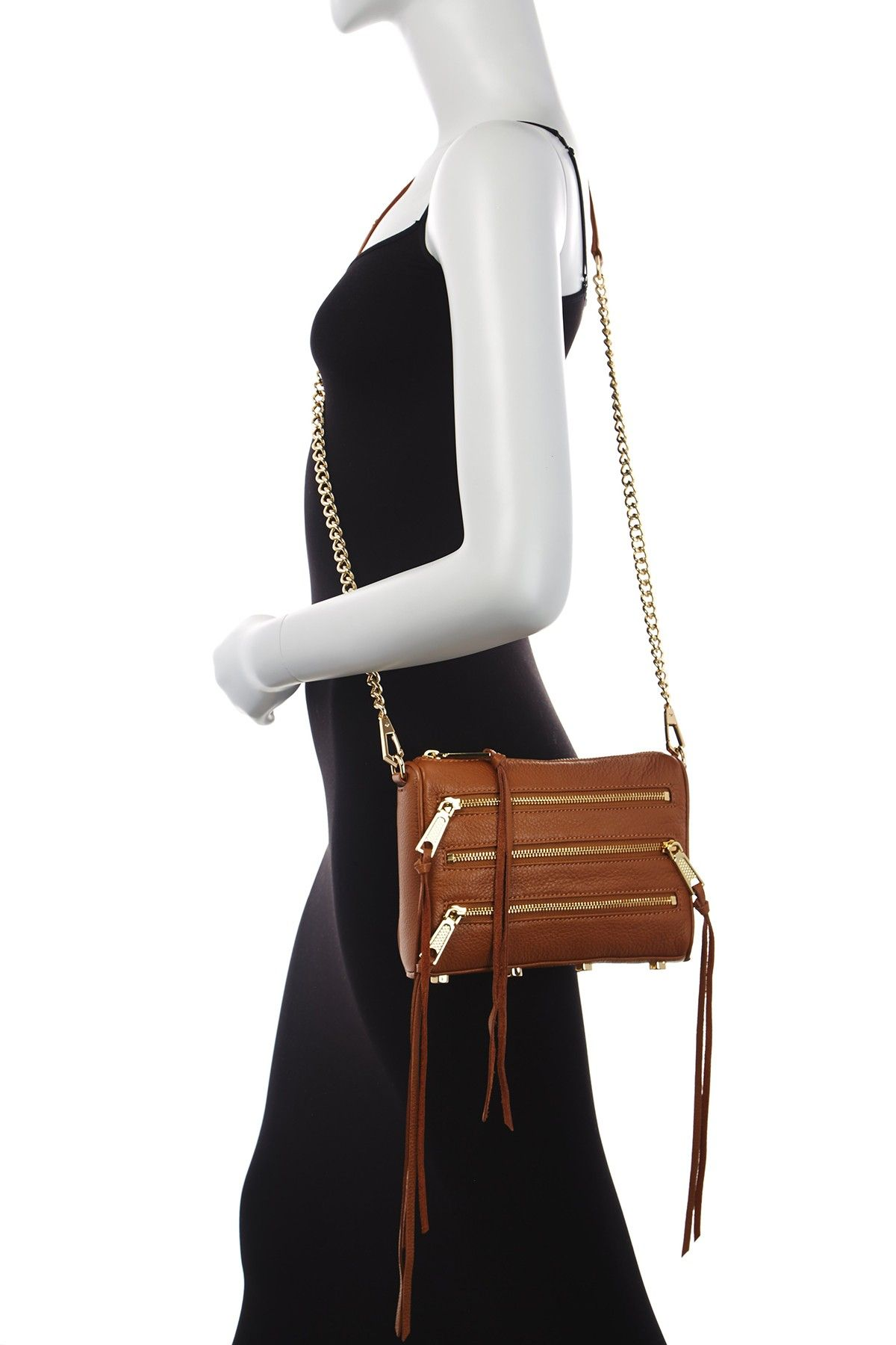 Malaga Zip Leather Crossbody by Rebecca Minkoff on @nordstrom_rack