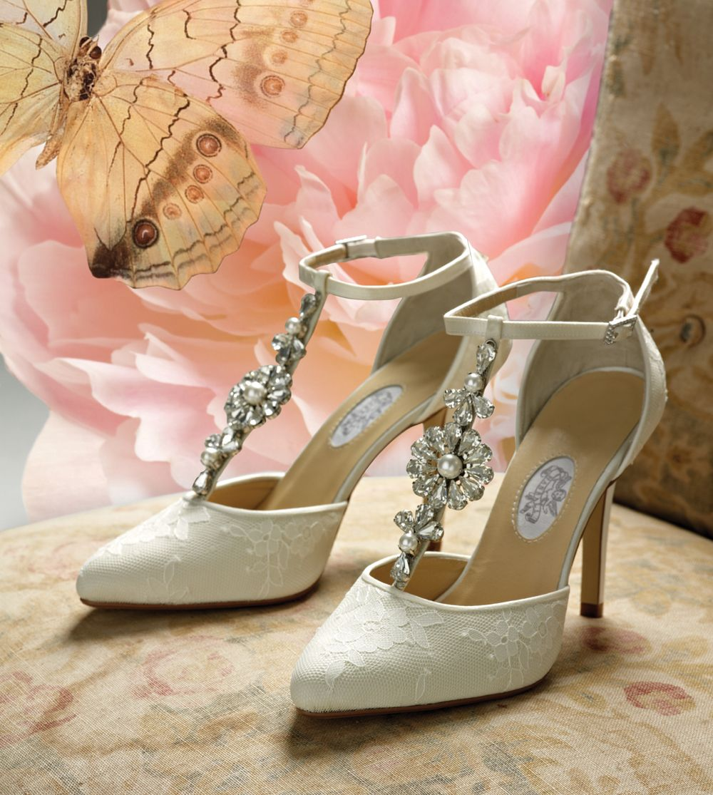 Vintage Wedding Shoes Diane Hassall Wedding Shoes Daisy Hill Vintage Ivory