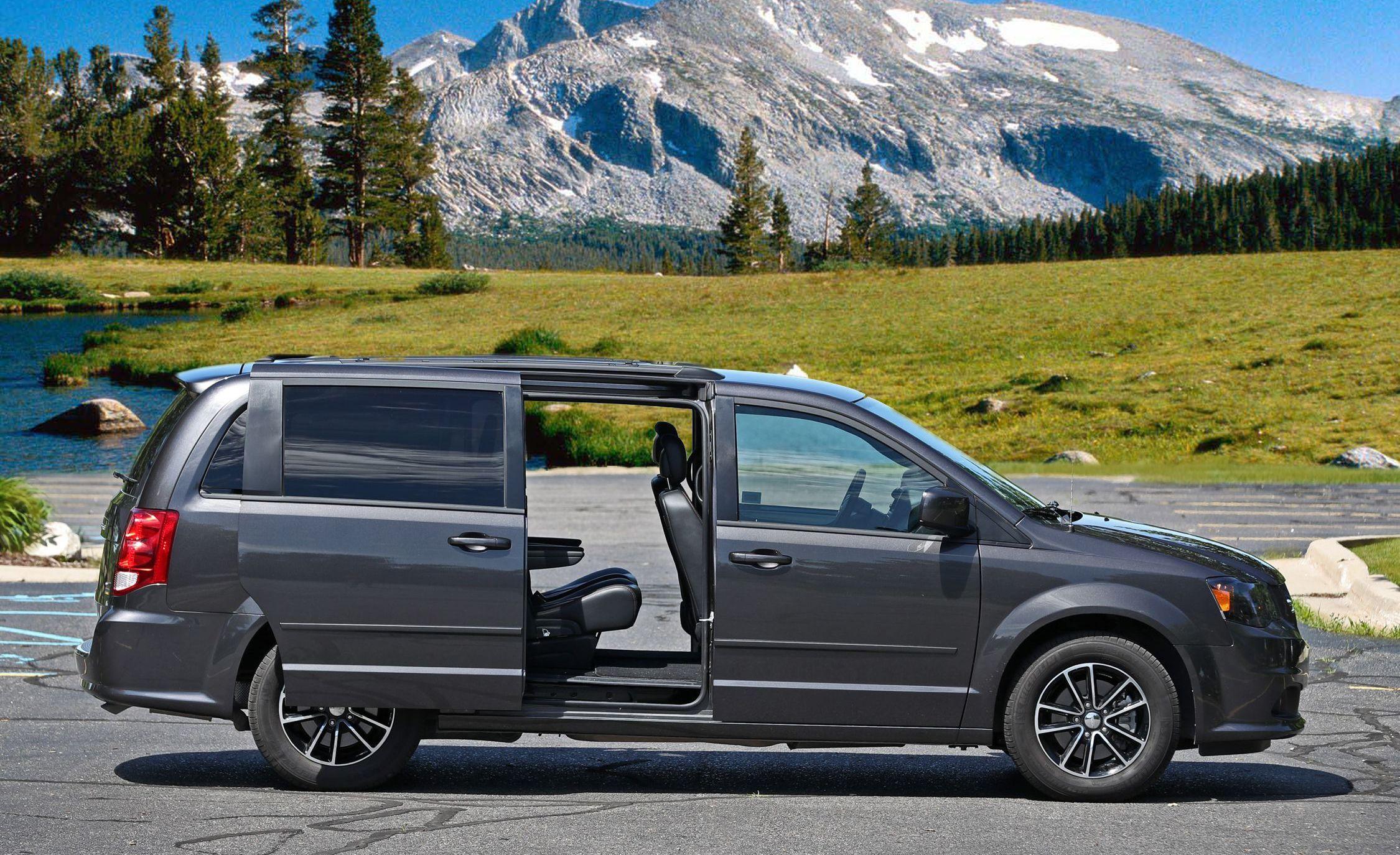 Dodge Dodgegrandcaravan Grandcaravan Minivan Car Vehicle