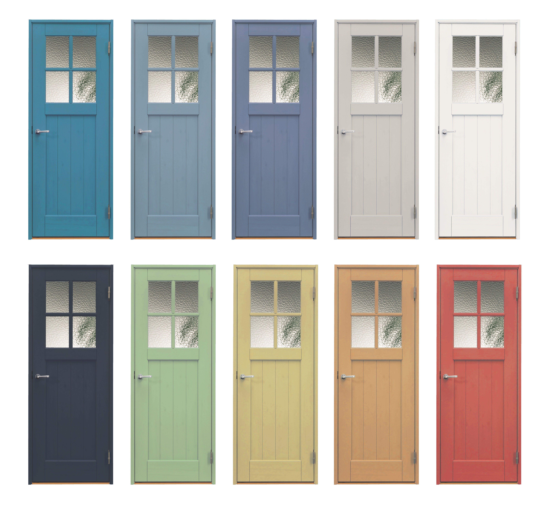 135色から選ぶ個性的なカラーバリエーション Jeans Style室内ドア