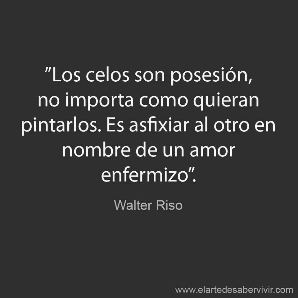 """Walter Riso – """"Los celos son posesi³n no importa o quieran pintarlos Es asfixiar al otro en nombre de un amor enfermizo"""""""