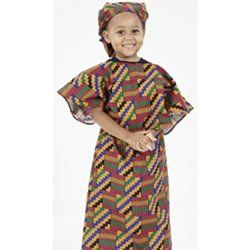 Multi-Ethnic Ceremonial Costume - African American Girl  sc 1 st  Pinterest & Multi-Ethnic Ceremonial Costume - African American Girl | ethnic ...
