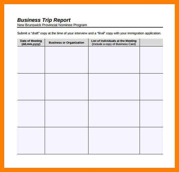 Business Trip Report Template from i.pinimg.com