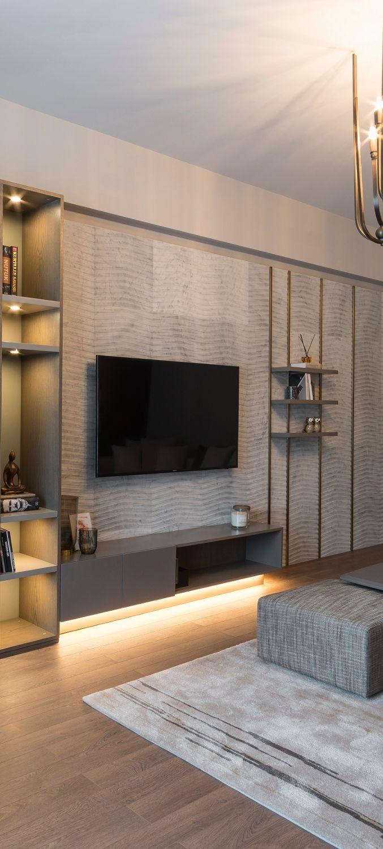 Living Room Interior Designs Tv Unit: Living Room Tv, Wall Cladding