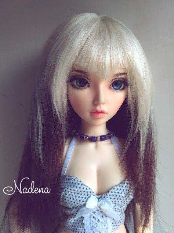 0dcf91141cd77 Goat wig . Wig for Minifee, bjd ,MSD ,MNF, 7-8