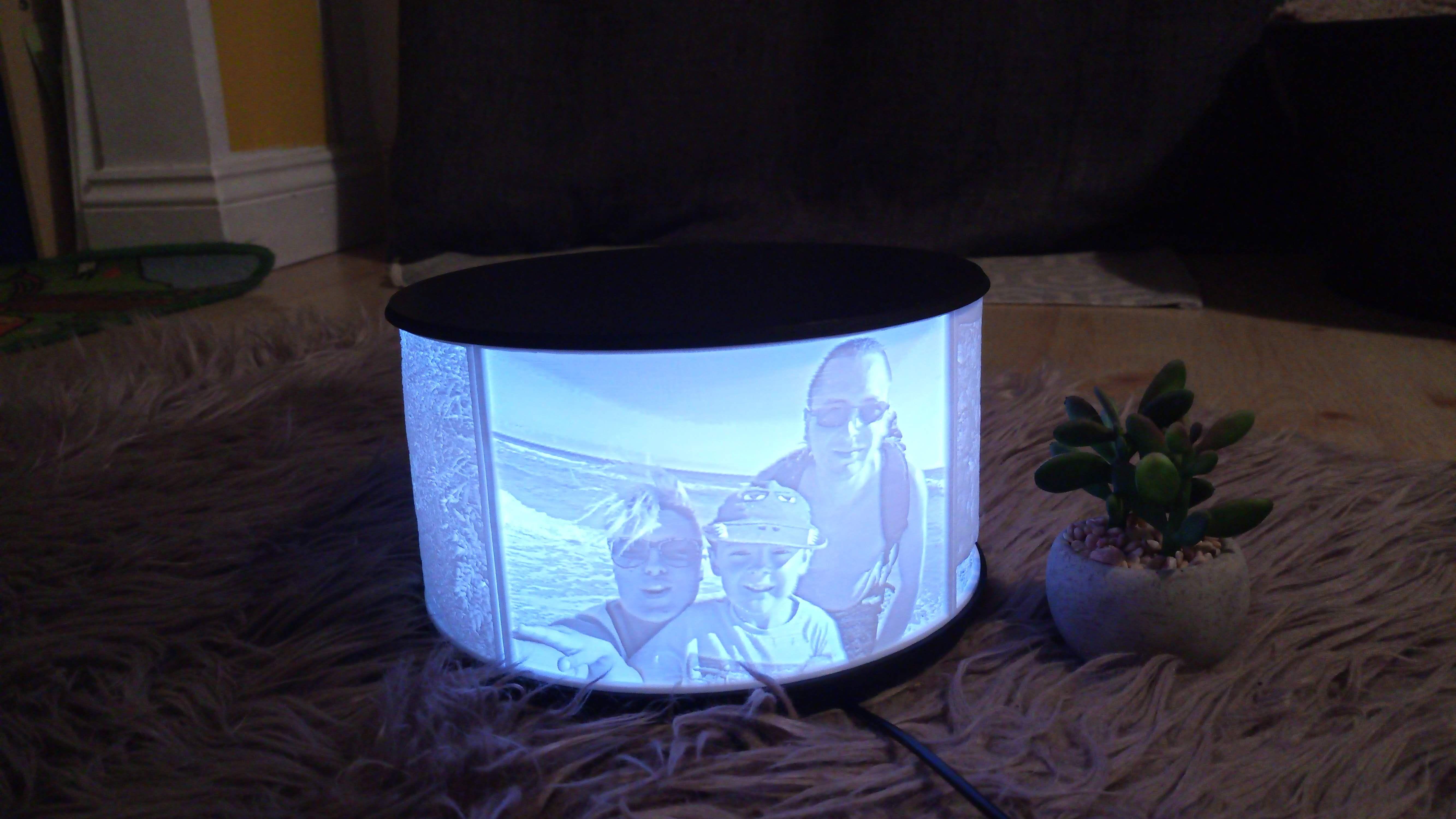 Personalized Photo Night Light Table Lamp Light Table Lamp Rgb Led