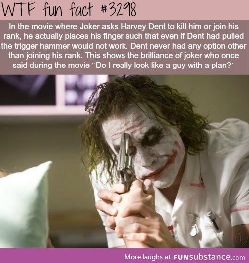 Why The Joker Is The Best Villian Fun Facts Weird Facts Wtf