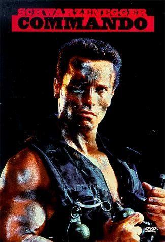 Comando (1985)Título Original: Commando. Duração: 95: minutos.  Diretor: Mark L. Lester.  John Matrix, ex-militar, levava uma vida tranquila com a sua filha. Contudo, um grupo de mercenários raptou-a e John tudo fará para a recuperar, sendo o seu plano fingir colaborar com eles, para depois os eliminar um a um.