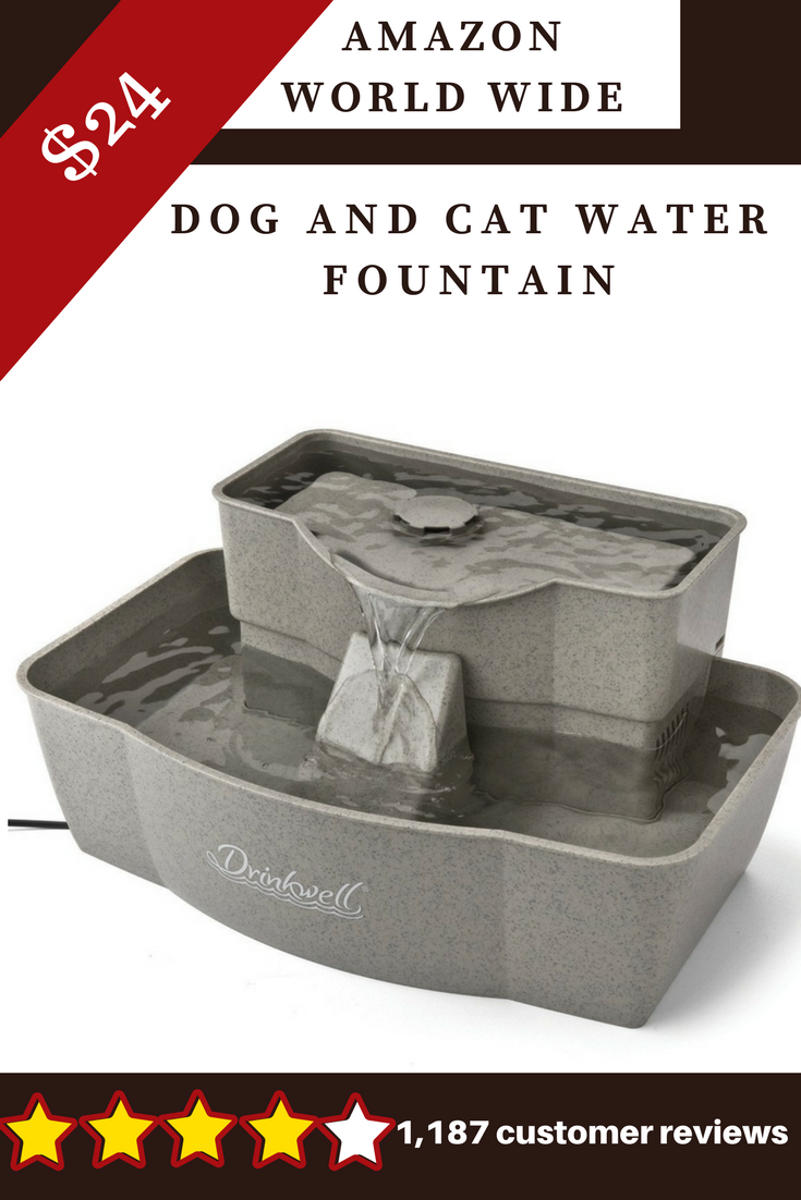 Drinkwell Multi Tier Dog And Cat Water Fountain Drinkware Drinks Water Fountain Pets Petsmart Anima Dog Water Fountain Cat Water Fountain Water Fountain