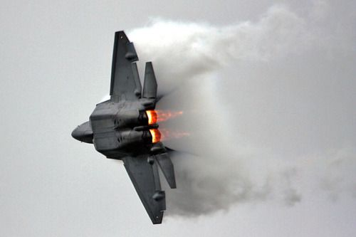 F-22 - Vectored Thrust