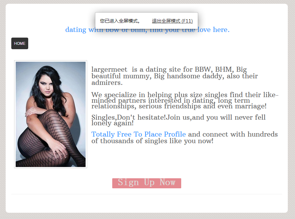 Totally Free Plus Size Dating Site