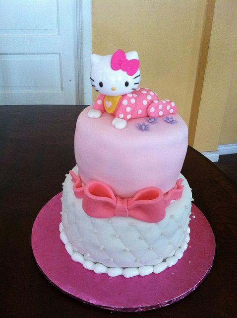 Hello Kitty Baby Shower Cake | Hello Kitty Baby Shower Cake | Flickr    Photo Sharing