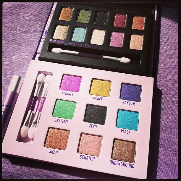 Urban Decay Palettes #makeup #urbandecay