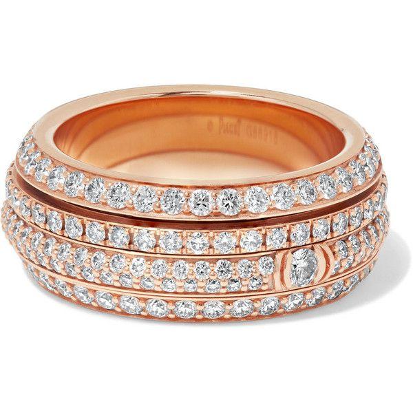 Piaget Possession 18-karat Rose Gold Diamond Ring 9QDMm36h07