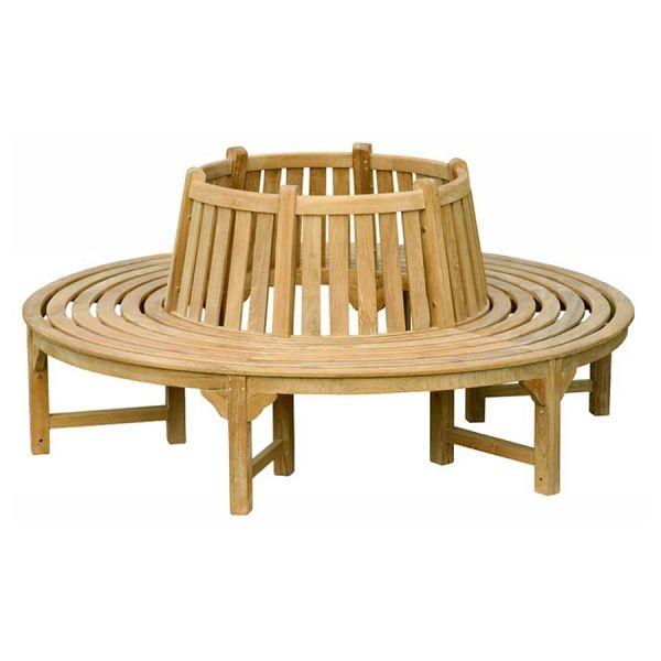 Teak Round Tree Bench Arsitektur