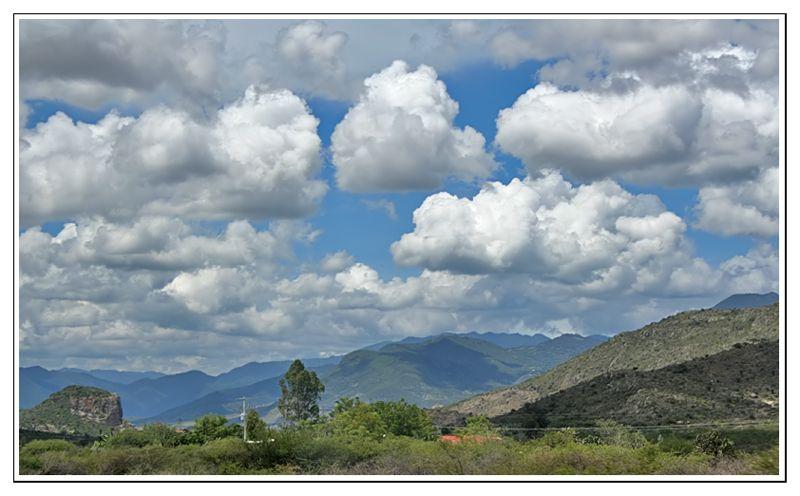 Los cielos de Oaxaca