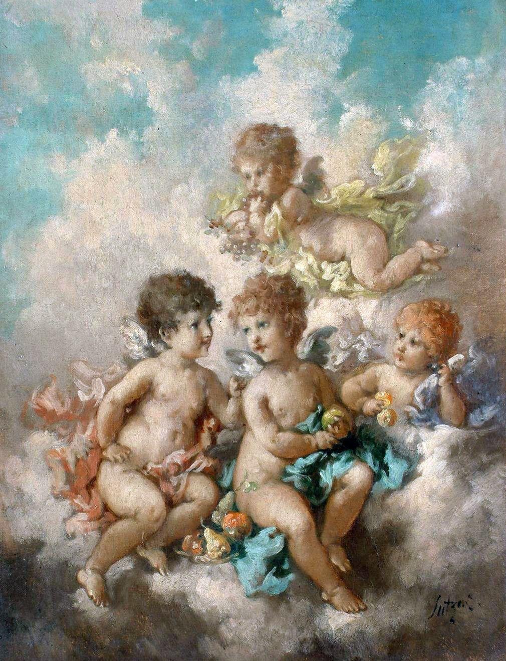 может картинки античные ангелочки вариант всеми