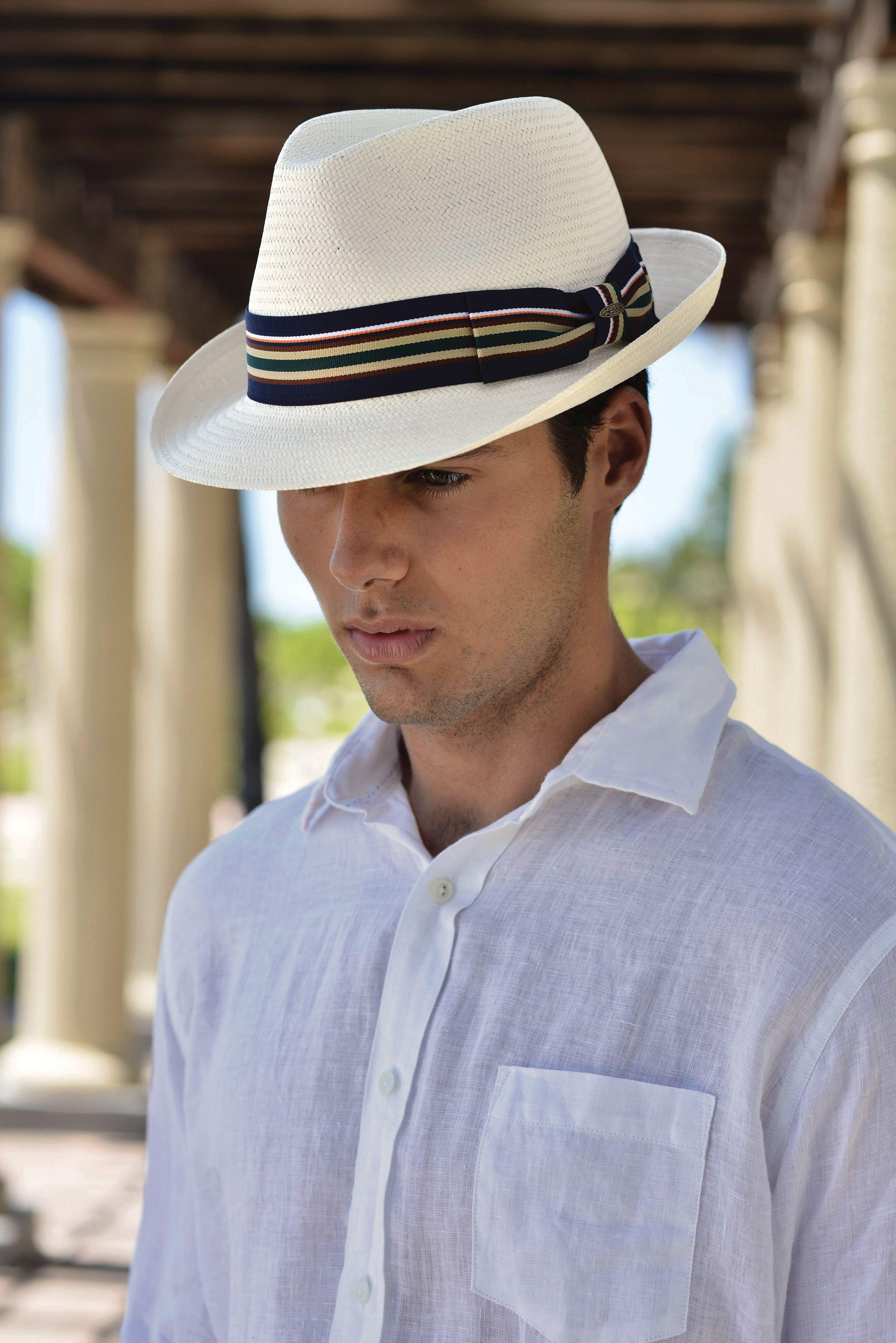 d4974124 Men's fashion toyo fedora hat. Classic straw hat. Scala | Men's ...
