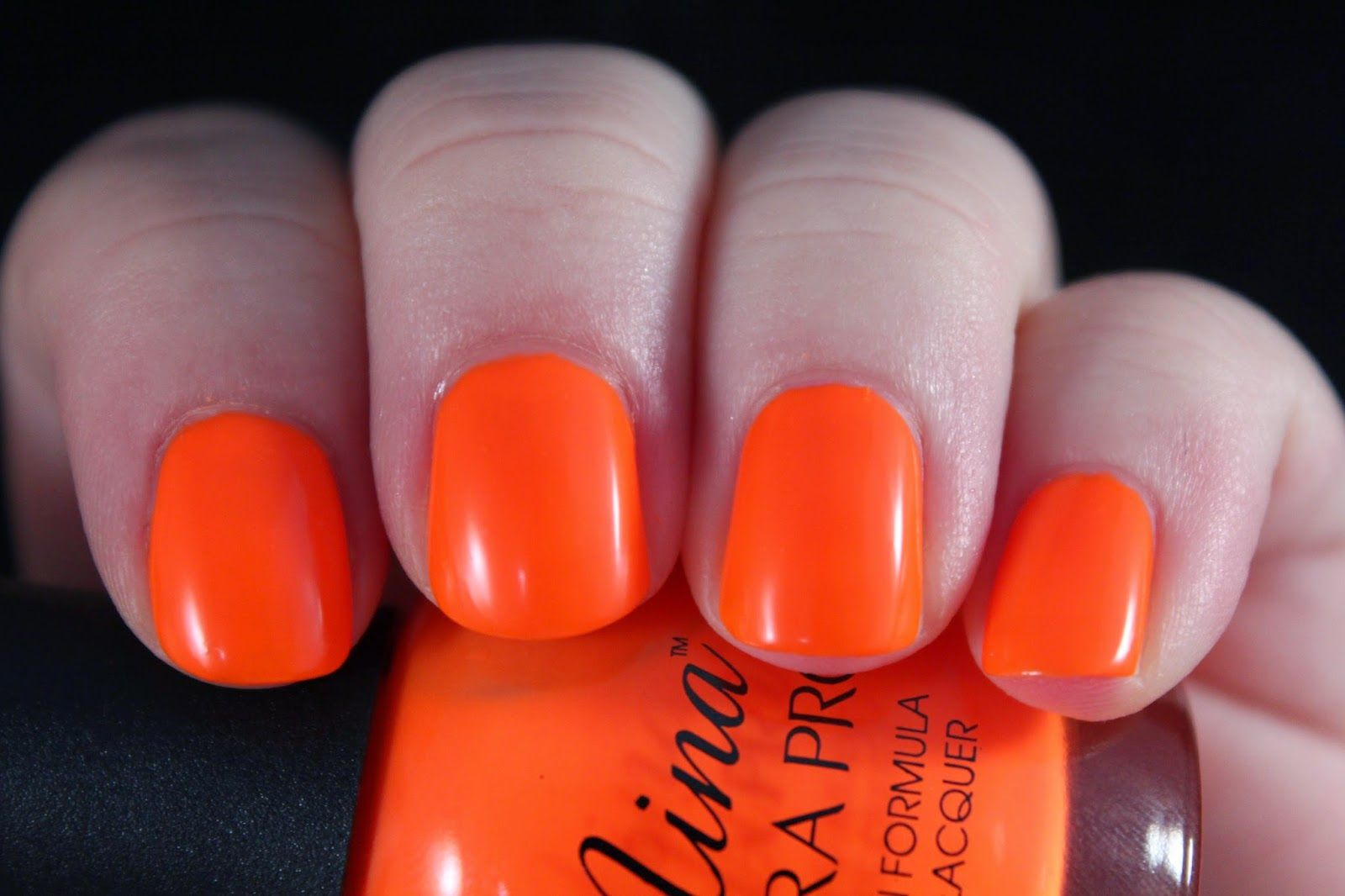 Nina Ultra Pro Orange Flame | Polish I Own | Pinterest