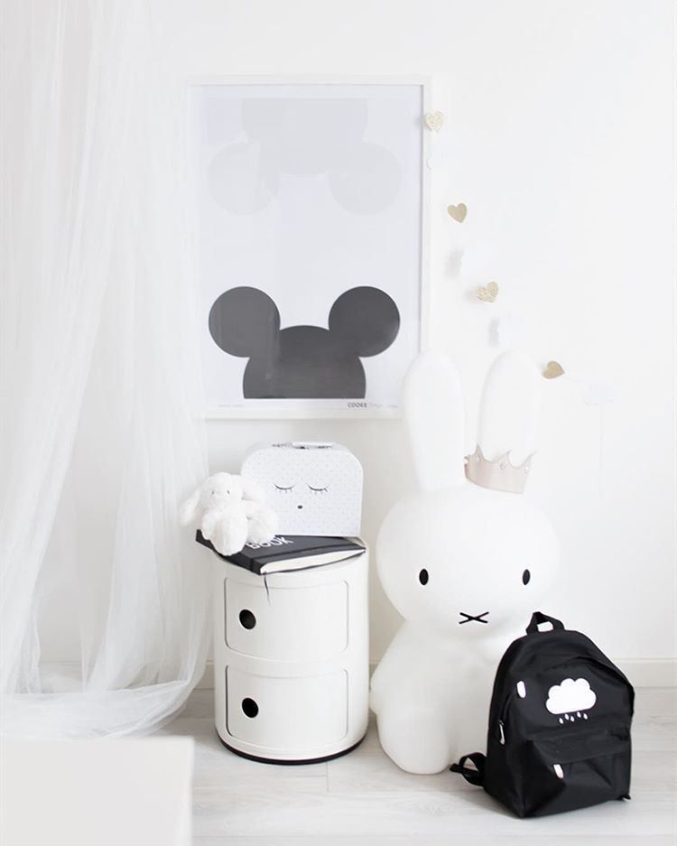 Mouse love in her room ♡ Happy Saturday  #kidsroom #babygirl #girlsroom #miffylamp #cooeedesign #alittlelovelycompany #bebiscz #designletters #livlyclothing #numero74 #kartell #littleone____