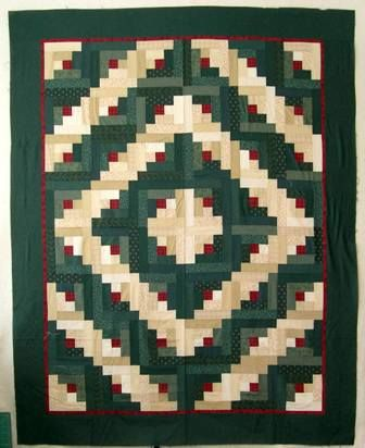 The Log Cabin Quilt Patterns I Teach Classes How To Make