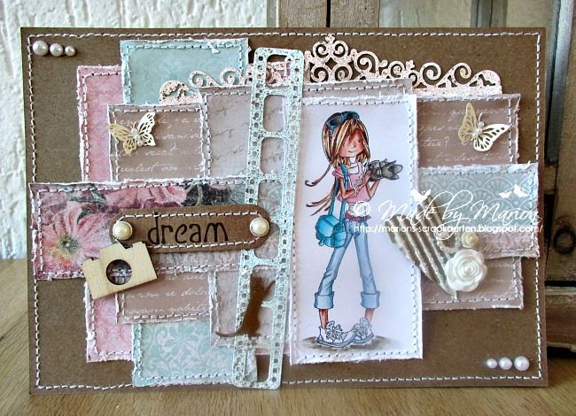 A card made with one of the lovely Scrapberry stamps 18122014
