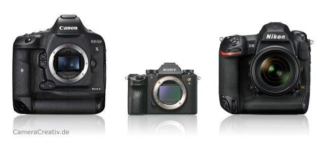 Sony Alpha A9 Vs Canon 1dx Mark Ii Vs Nikon D5 Aktuelles