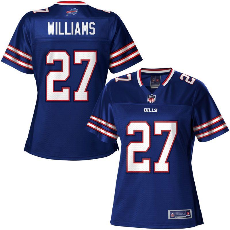 newest collection 525e1 7cbd9 NFL Pro Line Women's Buffalo Bills Duke Williams Team Color ...