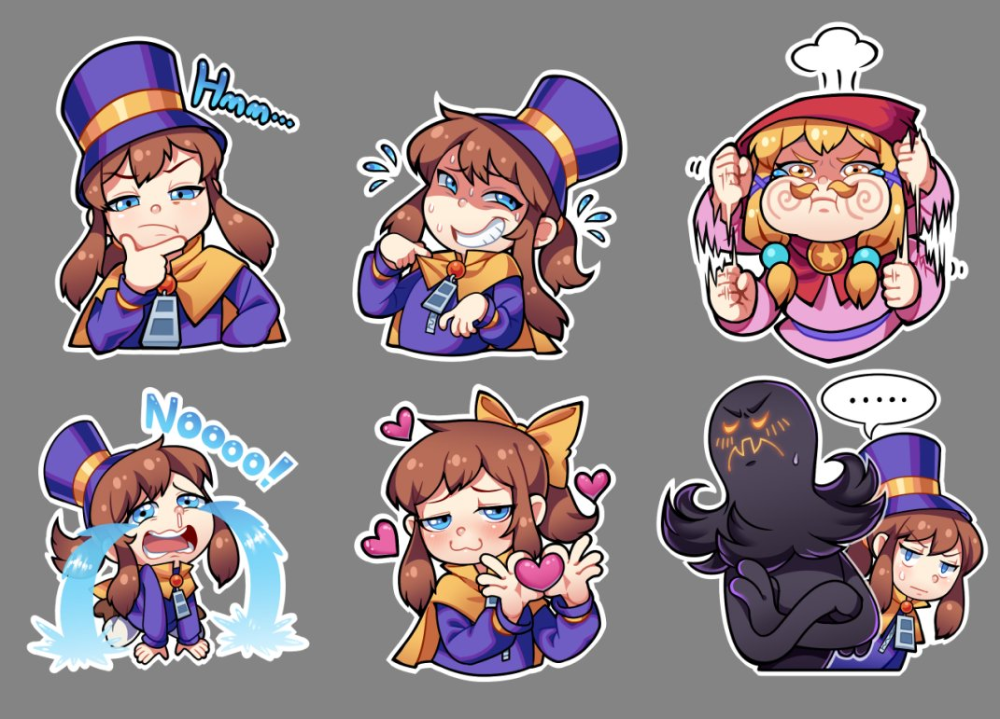 Hcr Cake On Twitter A Hat In Time Fanart A Hat In Time Hat In Time