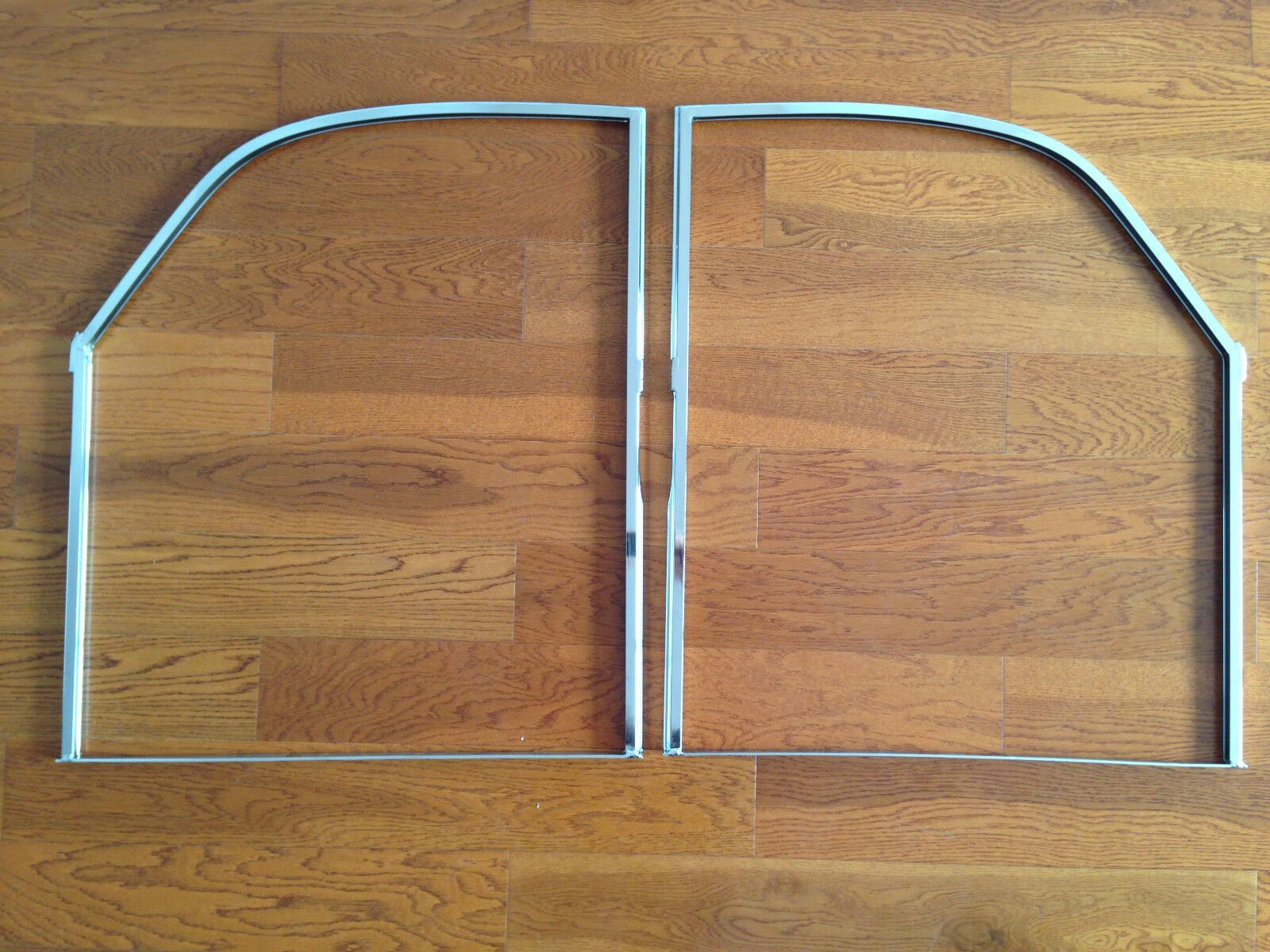 Porsche 356 Door Window Frame Chrome Plated Left And Right Ebay In 2020 Chrome Plating Porsche 356 Window Frame