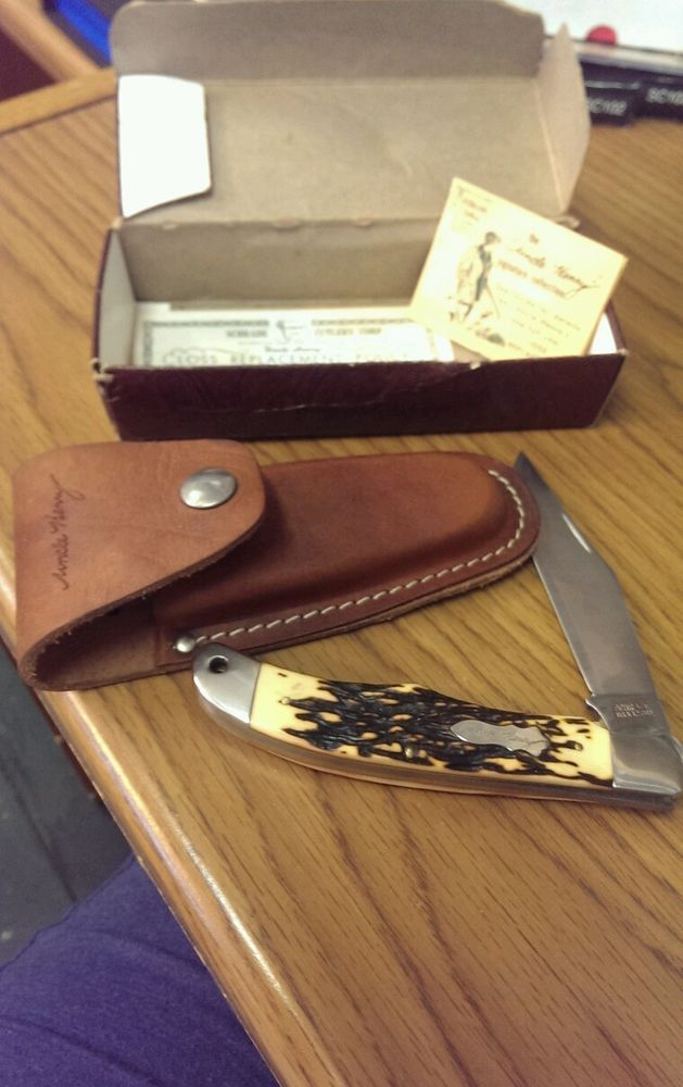 Schrade Uncle Henry 127uh Lockback Folding Pocket Knife
